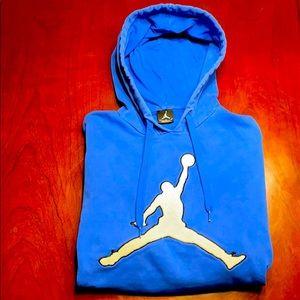 Air Jordan sweater size large mens